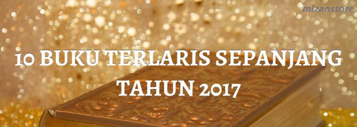 BUKU TERLARIS SEPANJANG TAHUN 2017