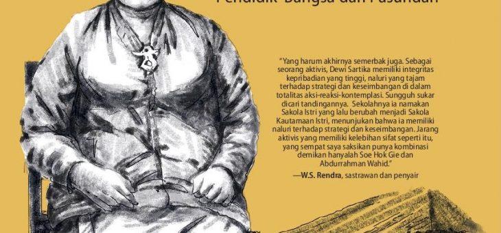 Dewi Sartika Perintis Pendidikan Kaum Wanita